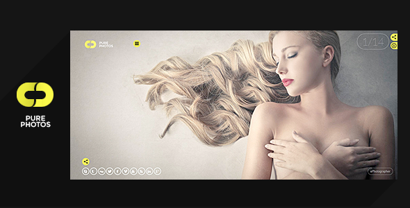 wordpress fotoğrafçı teması, wordpress photographer, nulled pure photo